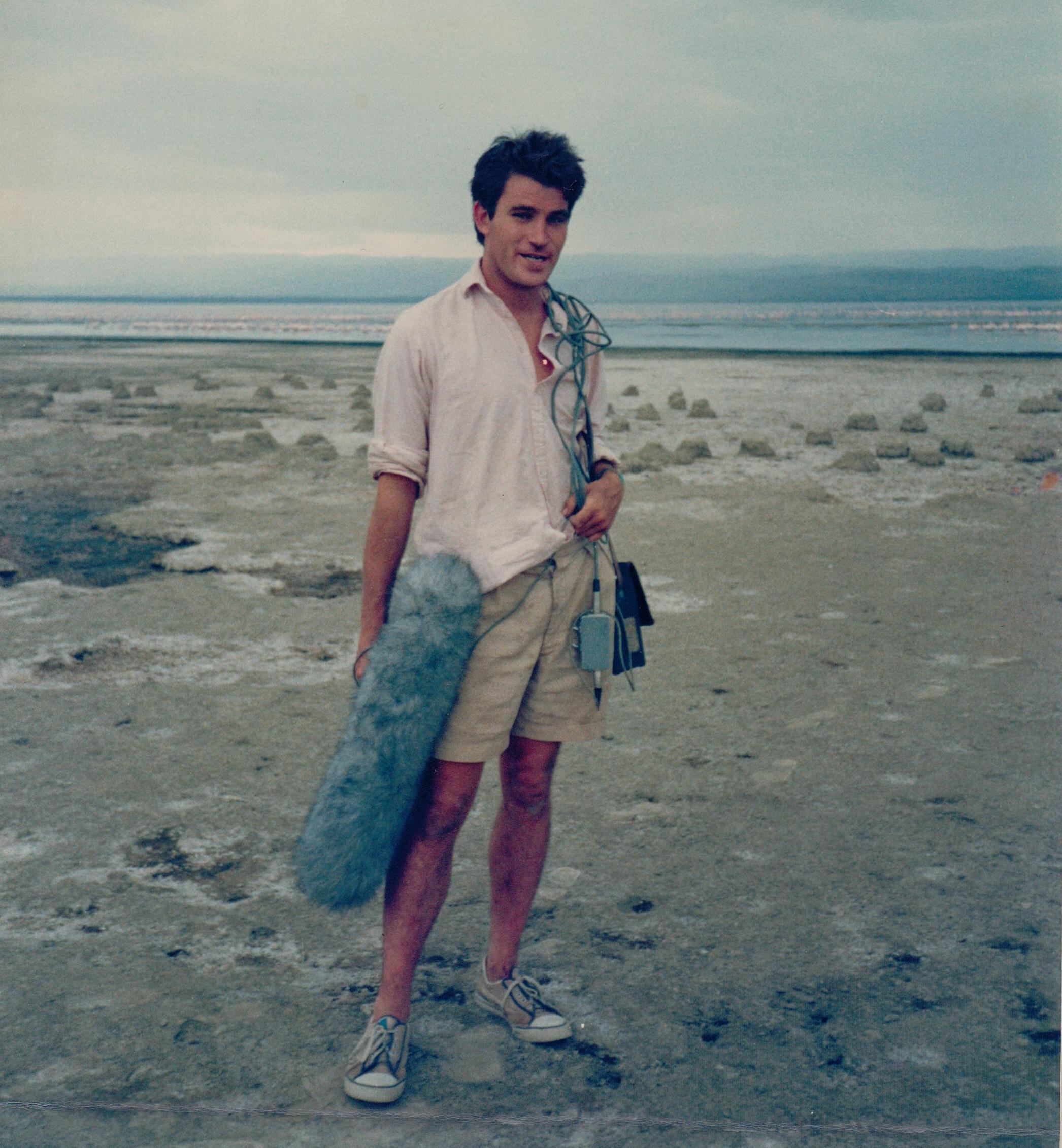 Alastair Fothergill at Lake Nakuru, Kenya
