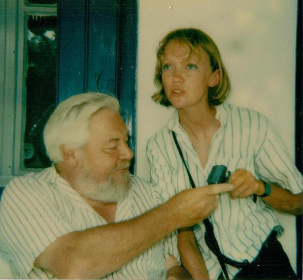Gerald Durrell with Sophie Neville