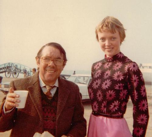 Ronnie Corbett and Sophie Neville