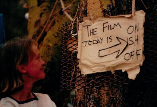 Sophie Neville with her first film schedule
