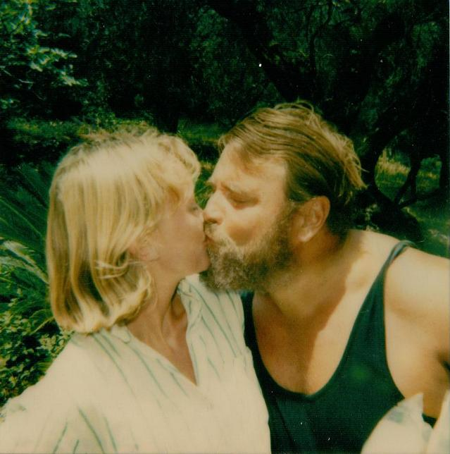 Sophie Neville with Brian Blessed