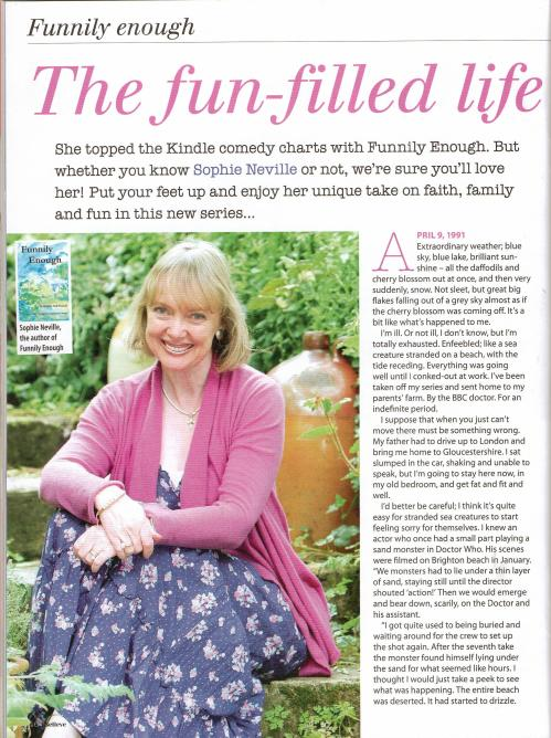 Funnily Enough - the first extract in iBelieve Magazine