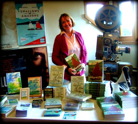Sophie Neville and her books