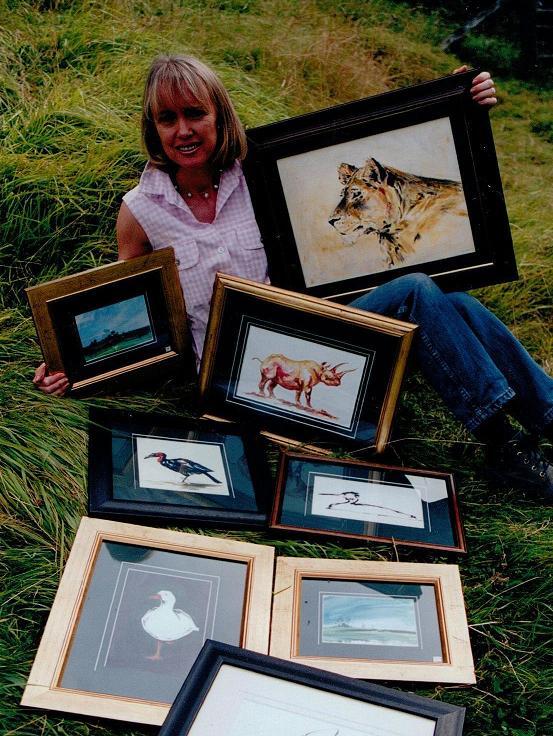 Wildlife Artist Sophie Neville