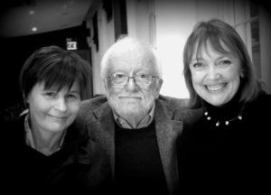 Suzanna Hamilton, Richard Pilbrow and Sophie Neville