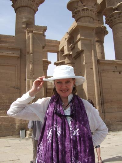 Sophie Neville at Aswan