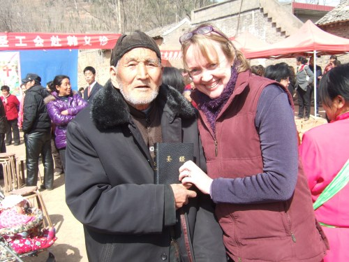 Sophie Neville in China