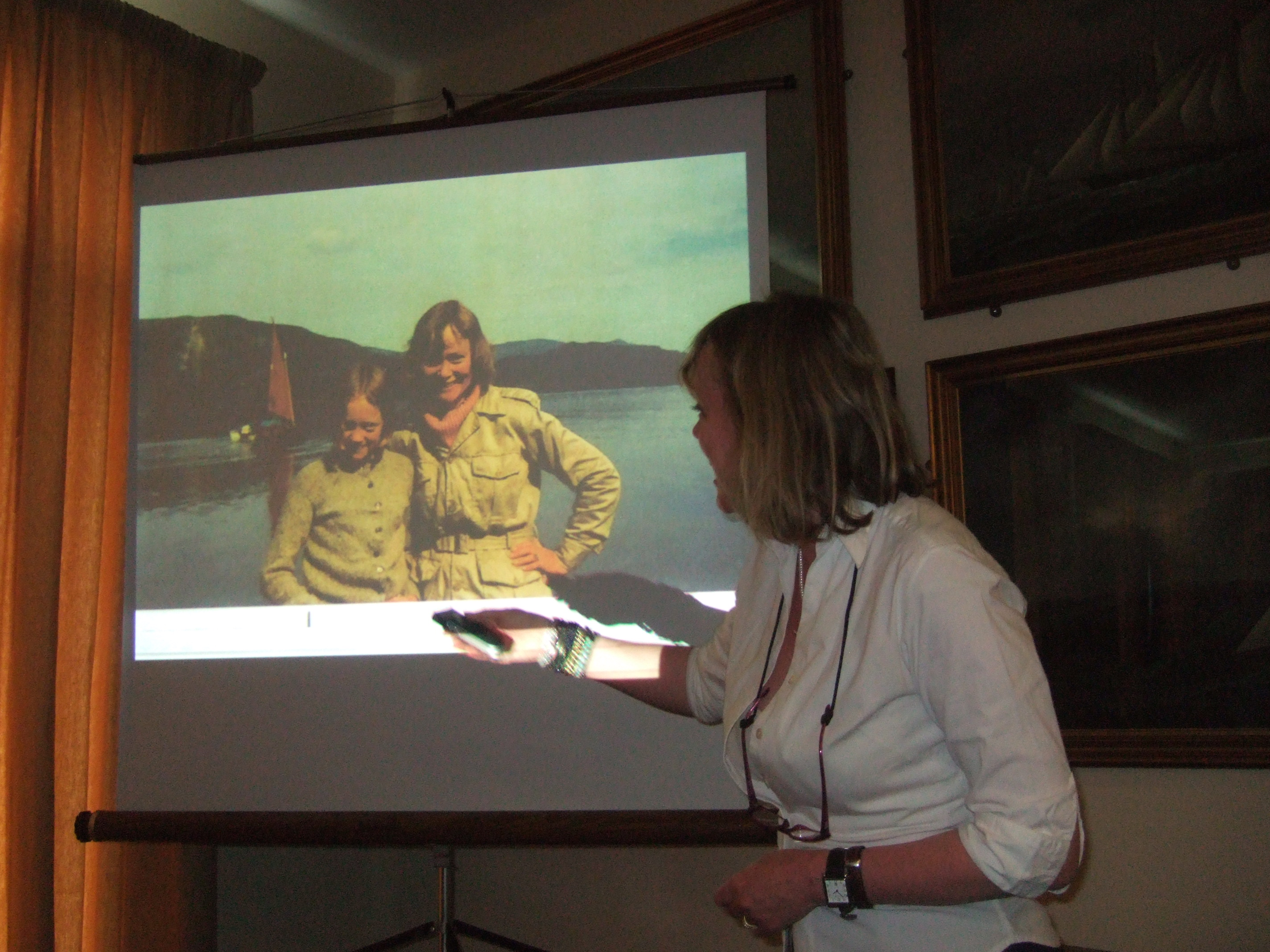 'Swallows and Amazons Forever!' a talk by Sophie Neville