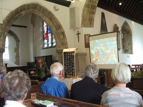 Sophie Neville talks on behalf of the Bible Society