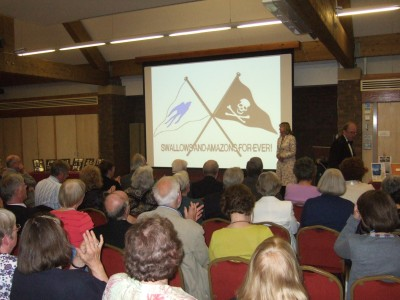 Author and speaker Sophie Neville talks about Swallows and Amazons