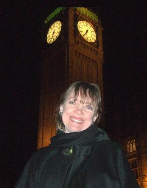 Sophie Neville at the House of Commons