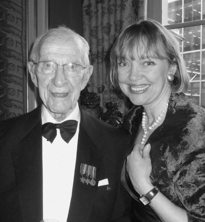 Dr Bill Frankland and Sophie Neville