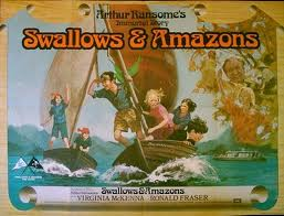 Guest sepaker Sophie Neville seen here on the film poster of 'Swallows and Amazons'