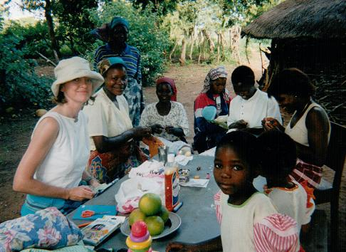 Sophie Neville in Mosambique with the First Baptist Church