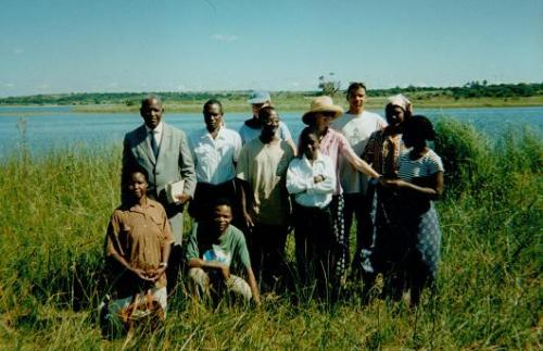 Sophie Neville in Mozambique with the First Baptist Church
