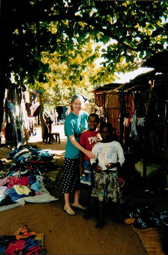 Sophie Neville in Mozambique