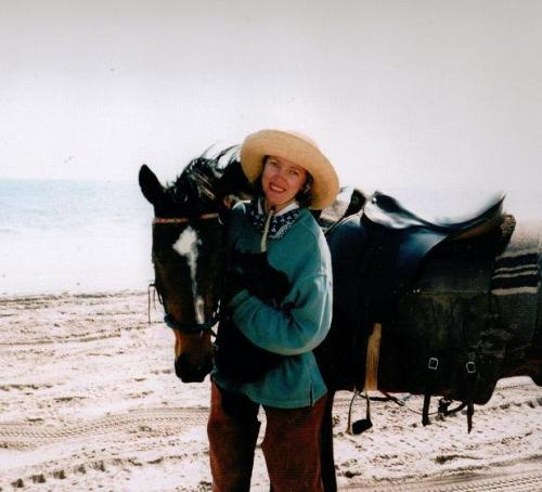 Sophie Neville in Namibia