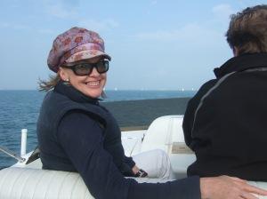 Sophie Neville on the Solent