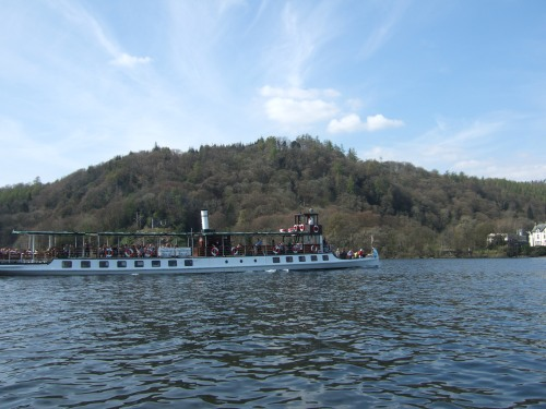 MV Tern on Windermere today