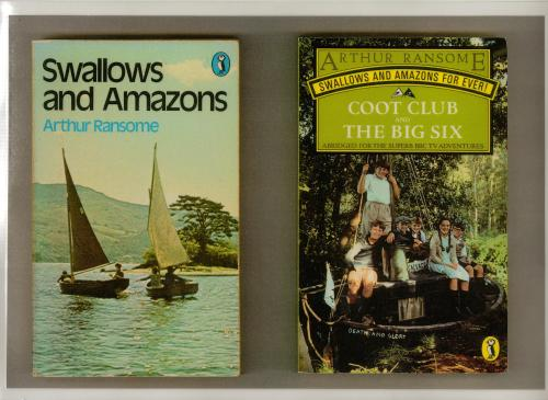Swallows and Amazons book cover Coot Club and The Big Six book cover