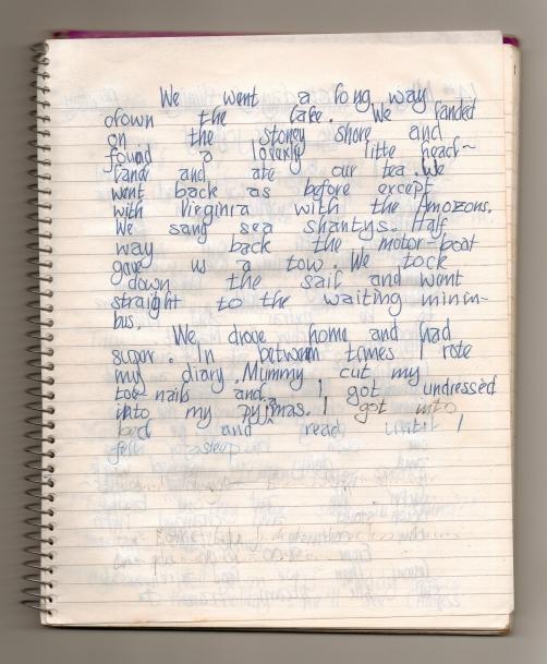 Swallows Diary 13th May page 2
