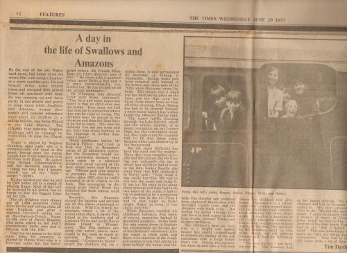 An article in The Times 1973