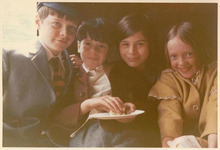 Simon West, Stephen Grendon, Suzanna Hamilton and Sophie Neville