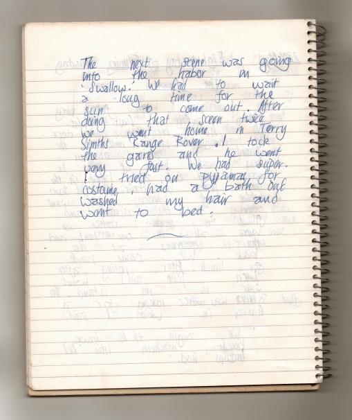 22nd May My diary1