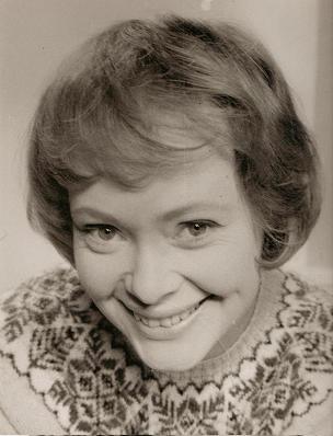 Daphne Neville's publicity photograph c.1973