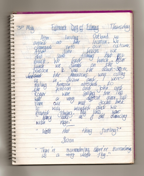 31st May 1973 ~ My diary