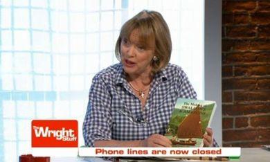Sophie Neville promoting her book