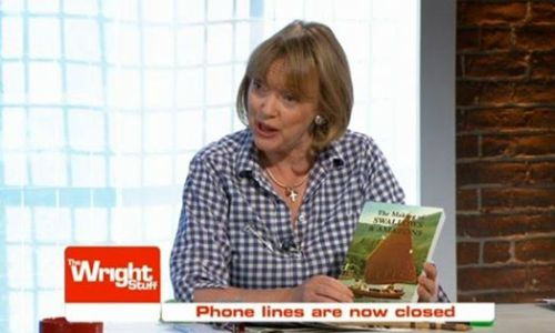 Sophie Neville promoting her book