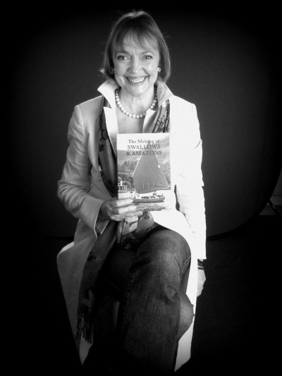Sophie Neville with 'The Making of Swallows & Amazons'
