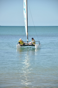 Sailing with Peter Duck (my father) in the Caribean