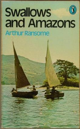 Swallows and Amazons book cover 1974