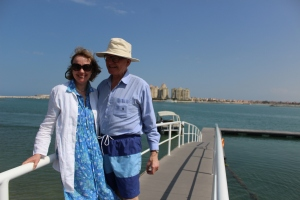 Sophie and Simon in the Gulf