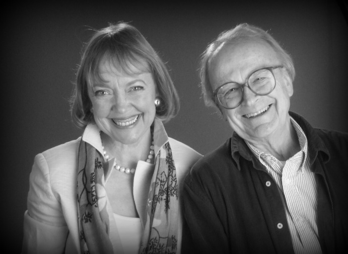 Sophie Neville and David Wood OBE appearing on CBBCTV