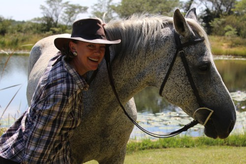 Sophie Neville in South Africa