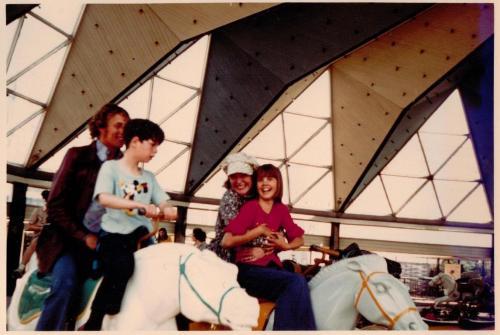Blackpool funfari 1973