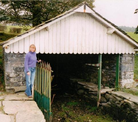 Sophie Neville at the Bank Ground Farm Boathouses