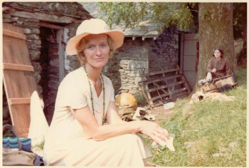 Virginia McKenna at Bank Ground Farm