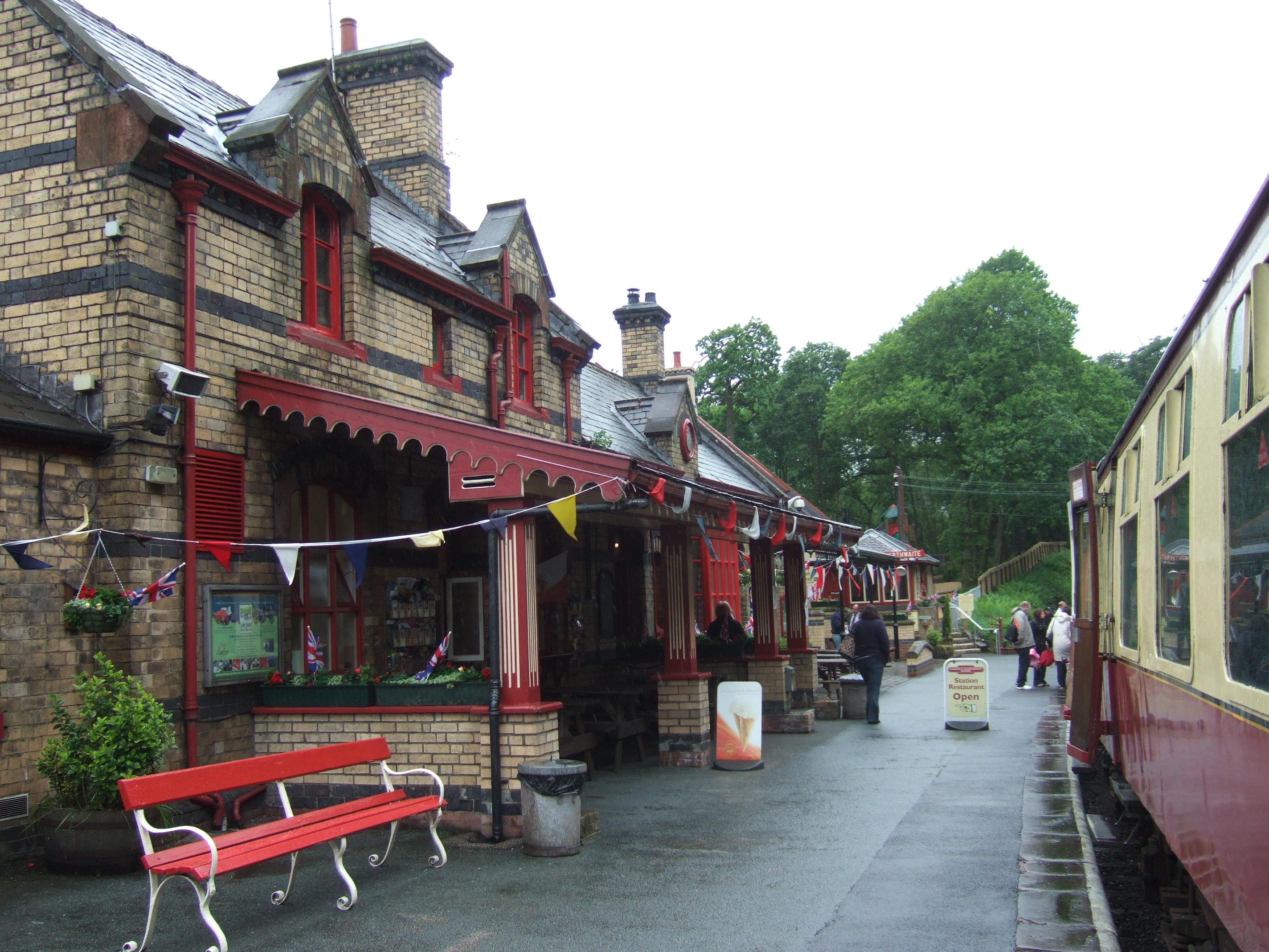 Lakeside and Haverthwaite Steam Railway