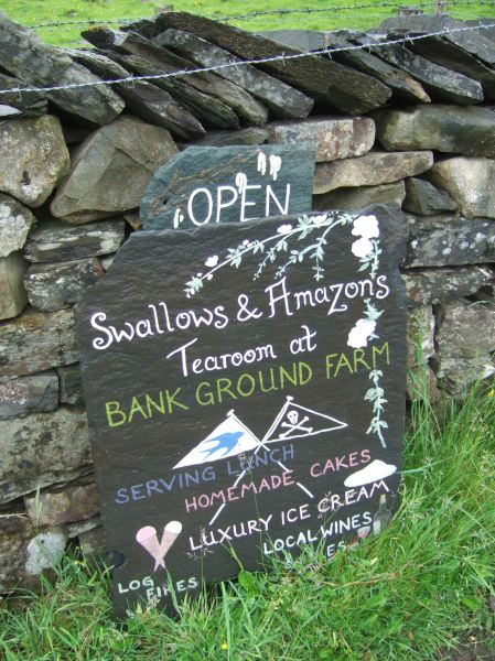 Swallows and Amazons Tearoom ~ photo: Sophie Neville