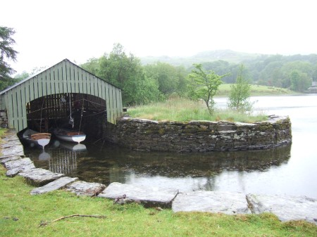 The Slate Quay on Coniston Water ~ photo: Sophie Neville