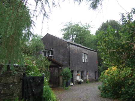 The barn where Arthur Ransome wrote 'Swallows and Amazons'
