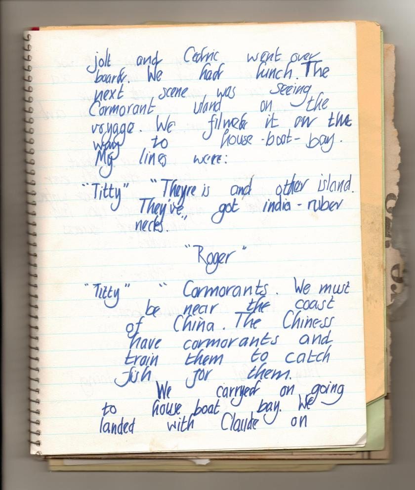 28th June ~ my diary page two