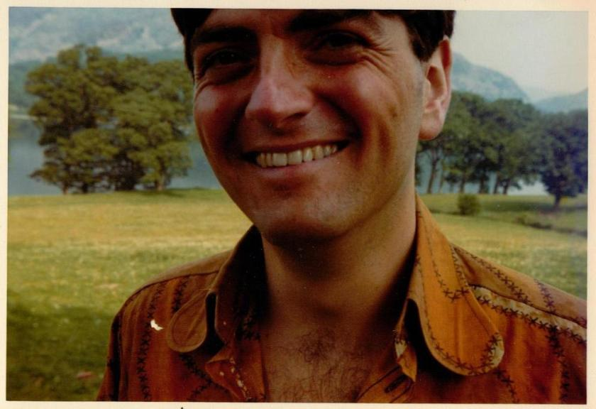 David Blagden who played Sammy the Policeman