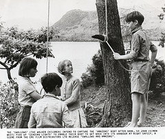Suzannah Hamilton, Stephen Grendon, Sophie Neville and Simon West above Derwentwater in 1973