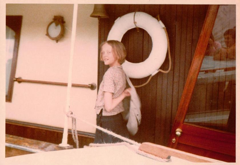 Sophie Neville as Titty Walker on Captain Flint's houseboat