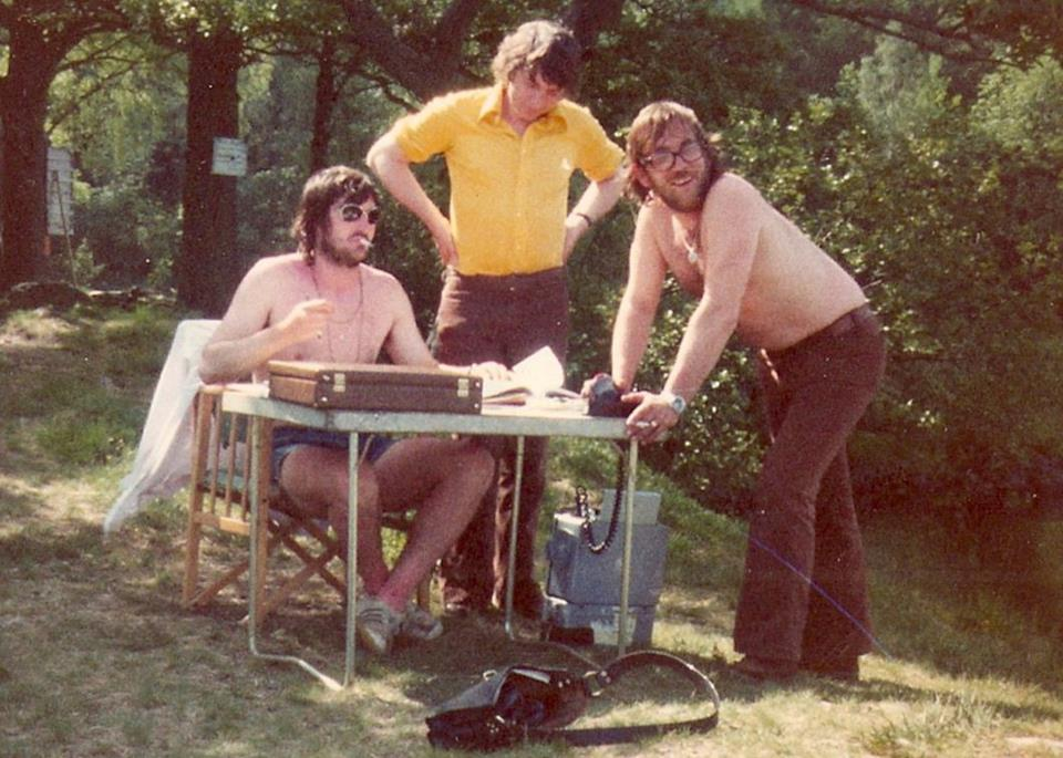 The Production Team on 'Swallows and Amazons' in 1973